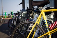 Parked racing bikes [1201215295]