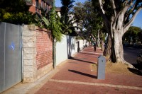 Green point sidewalk [1202055597]