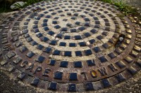 Cape Town manhole cover [1202055649]