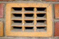 Brick wall's air vent [1202055745]