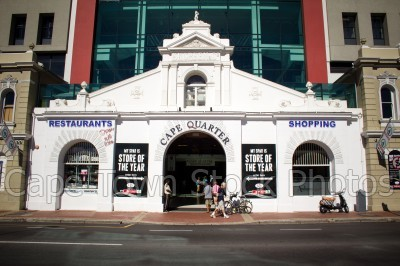 green point,cape quarter,buildings,streets