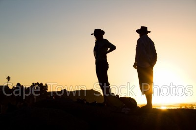 man,people,sunset,woman,silhouette,rocks