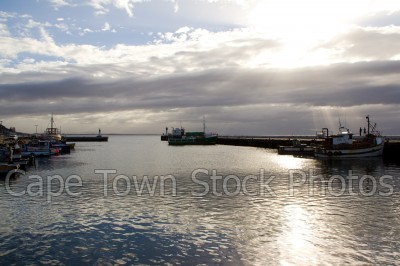 harbour,cloud,kalk bay,sun,boat,sunrise,sunset,fishing boat