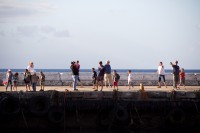People standing on a pier[1203046104]