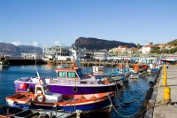 Colourful boats of Kalk Bay [1203046112]