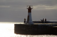 Lighthouse at Kalk Bay harbour's entrance [1203046123]
