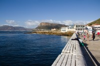 Sea and mountains from Kalk Bay's pier [1203046177]