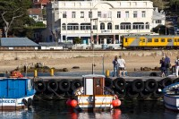 Trains and boats in Kalk Bay [1203046182]