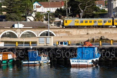 harbour,kalk bay,train,boat