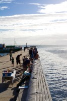 Fishing from the pier in Kalk Bay [1203046210]