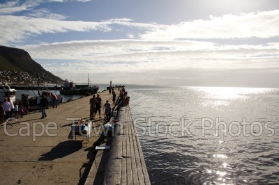 kalk bay,fishing,pier,fisherman
