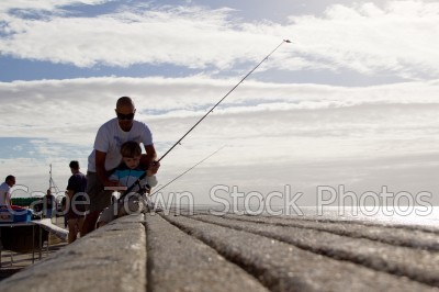 kalk bay,fishing,boy,father,fisherman