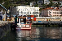 Fishing boat in kalk bay [1203046245]
