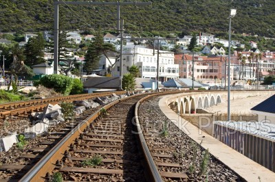 kalk bay,train rails