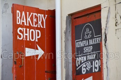 kalk bay,bakery,shops,signs
