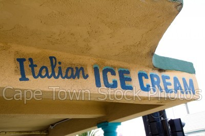 kalk bay,ice cream,signs