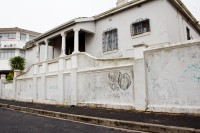 An old white house in Bo Kaap [1204017100]