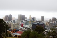 Cloudy Misty Cape Town city from Signal Hill [1204017105]