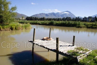 mountain,lifesaver,countryside,tulbagh,dam,jetty