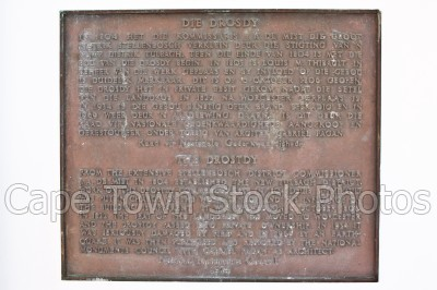 tulbagh,plaque