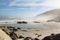 Misty morning at Clifton beach [1205067988]
