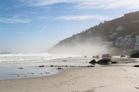Misty morning on Clifton beach [1205068008]