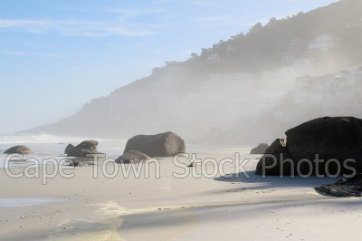 mist,sea,beach,clifton