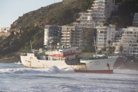 Ship stranded on Clifton beach [1205128363]