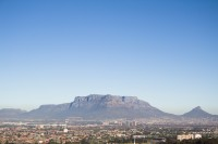 Table Mountain with blue sky [1206038482]