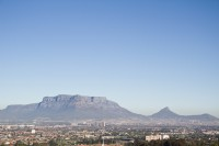 Table Mountain with blue sky [1206038483]
