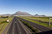 Table Mountain and the N1 highway [1206038494]