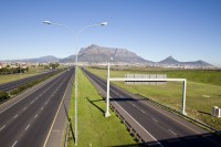 Table Mountain and the N1 highway [1206038497]