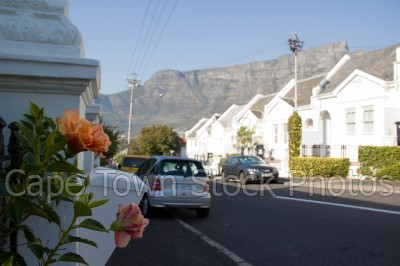 table mountain,houses,tamboerskloof