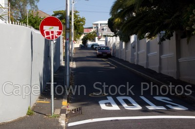 streets,tamboerskloof,traffic signs