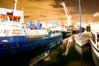 Harbour boats at night [1207149192]