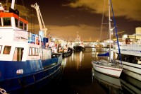 Harbour boats at night [1207149195]