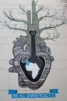 We All Share Roots mural by Boa Mistura [1208189486]