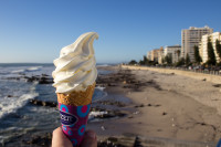 Ice cream cone at Sea Point [1208189529]