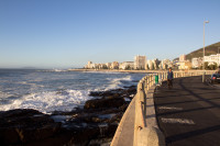 Views along the Sea Point promenade [1208189569]