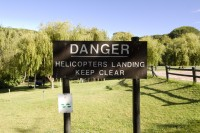 Helipad danger sign [1301204124]
