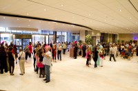 People inside Artscape Theater complex foyer [1301234174]