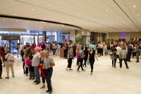 People inside Artscape Theater complex foyer [1301234175]