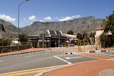 table mountain,roads