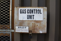 Gas Control Unit sign [1303094455]