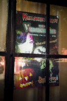 Halloween sign in a window [1303094482]
