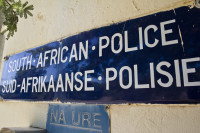 South African Police sign [1303094621]