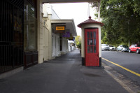 Old telephone booth, Wolfe Street, Wynberg [1303234718]