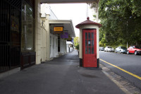 Old telephone booth, Wolfe Street, Wynberg [1303234719]