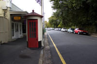 Old telephone booth, Wolfe Street, Wynberg [1303234720]