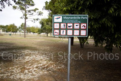 signs,parks,wynberg